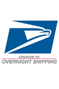 Overnight Shipping - Regalia and Merchandise Only